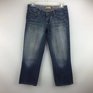 Paige Women's Laurel Canyon Cropped Denim Size 25